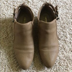 Express booties - light tan/cognac